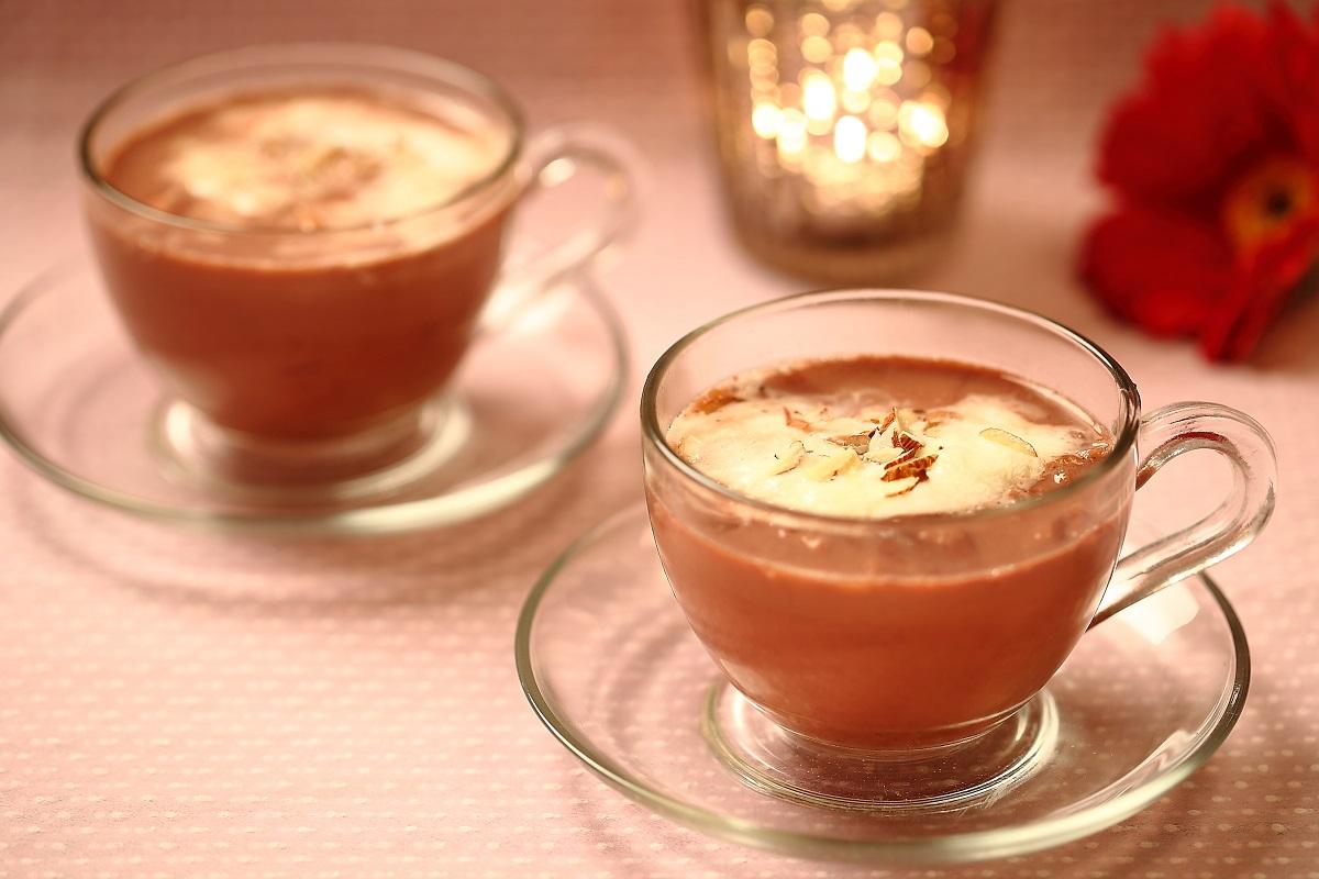 Noon Chai or Sheer Chai (Kashmir Pink Tea)